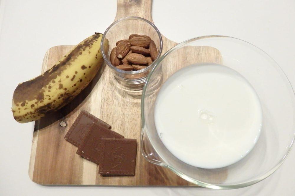 ハンディシェイクブレンダー レシピ チョコレートスムージー